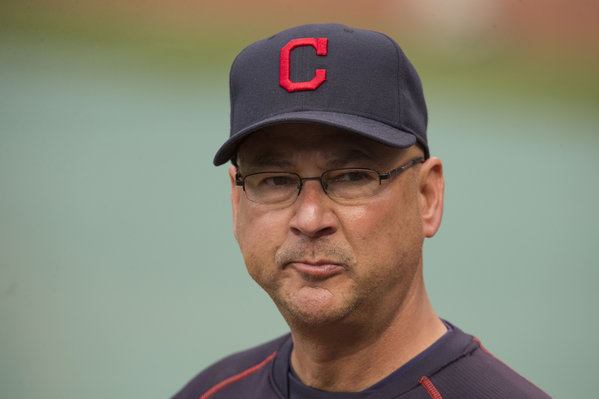 Manager Terry Francona of the Cleveland Indians before a game against the Baltimore Orioles at Oriole Park at Camden Yards on June 26, 2015 in Baltimore, Maryland.