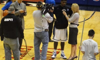 Doris Burke interviews Kyrie